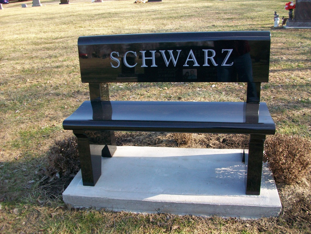 Bench Monuments Richards Monument Best Price And Quality On Monuments And Headstones In